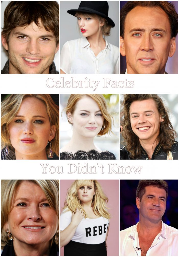 Celebrity Facts You Didn't Know