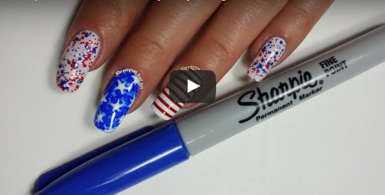 Do It Yourself Fourth Of July Nails