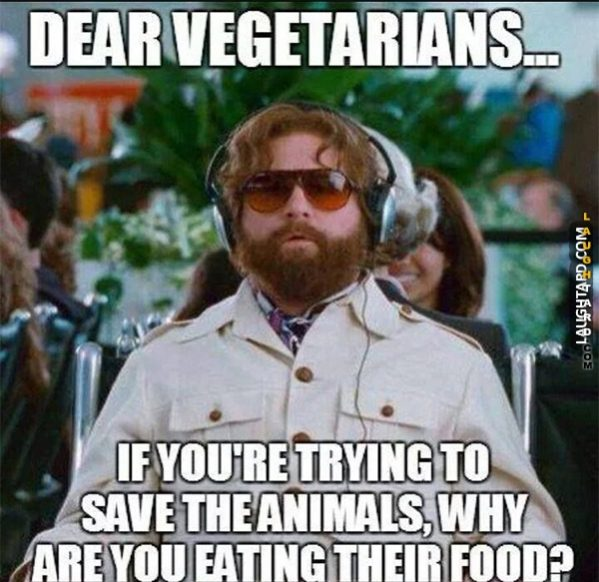 Dear Vegetarians.
