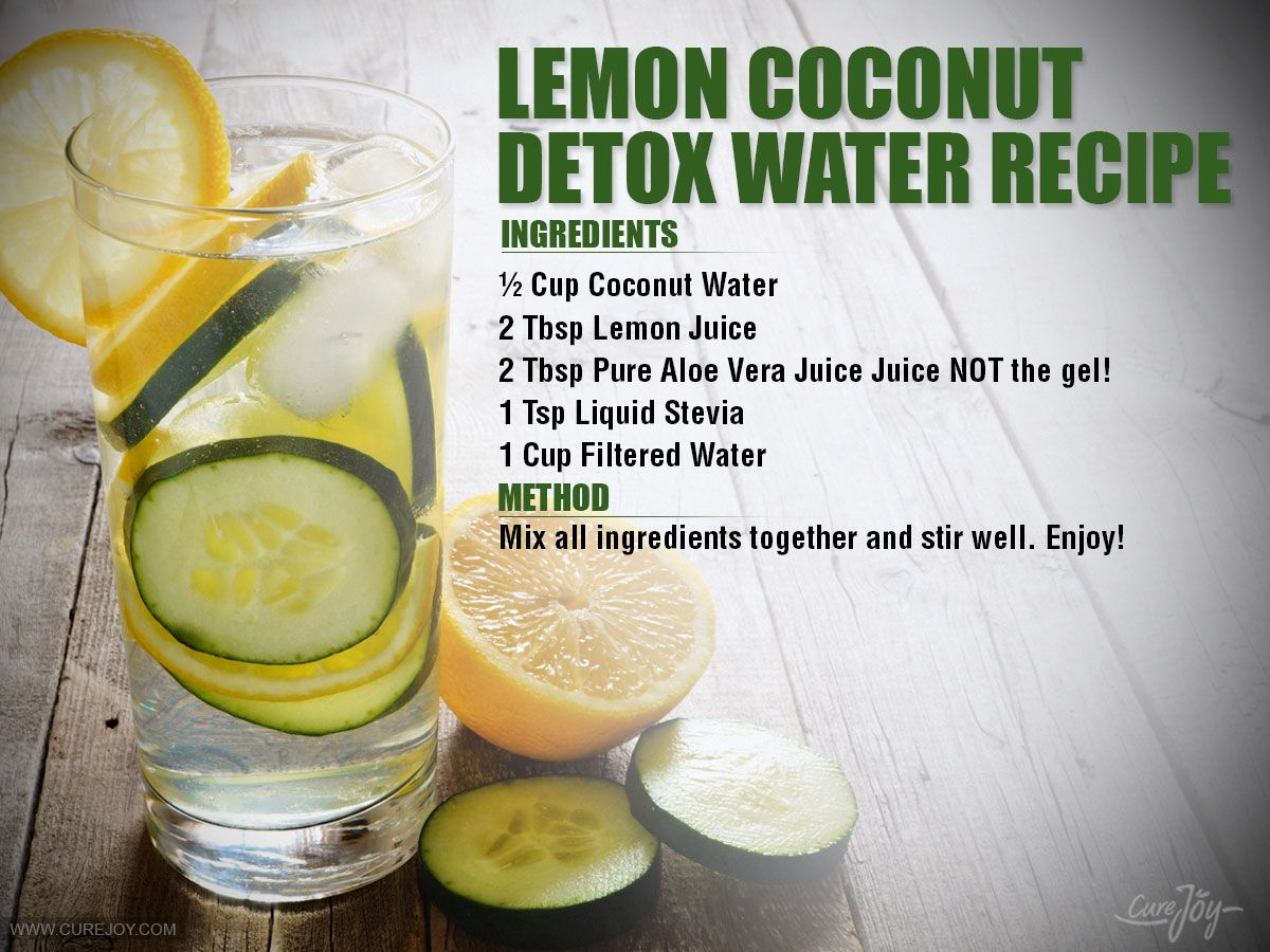 Detox Water Recipes That Will Make Your Body Happy 2130598080
