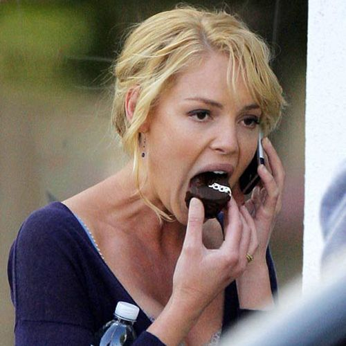 Awkward Pictures Of Celebrities Eating 234799380