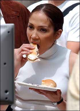 Awkward Pictures Of Celebrities Eating 645199753