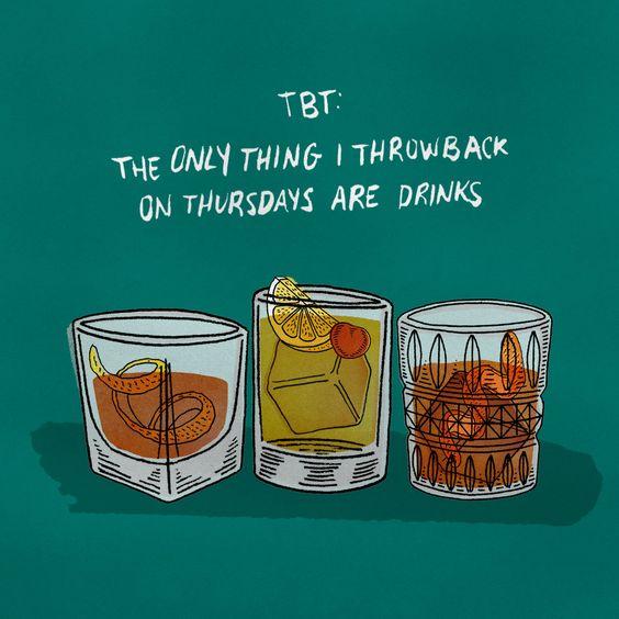 Tasty Thirsty Thursday Drink Recipes