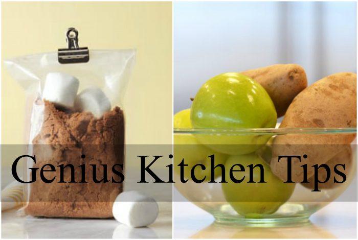 Genius Kitchen Tips