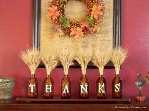 Dollar Store DIY Thanksgiving Decor