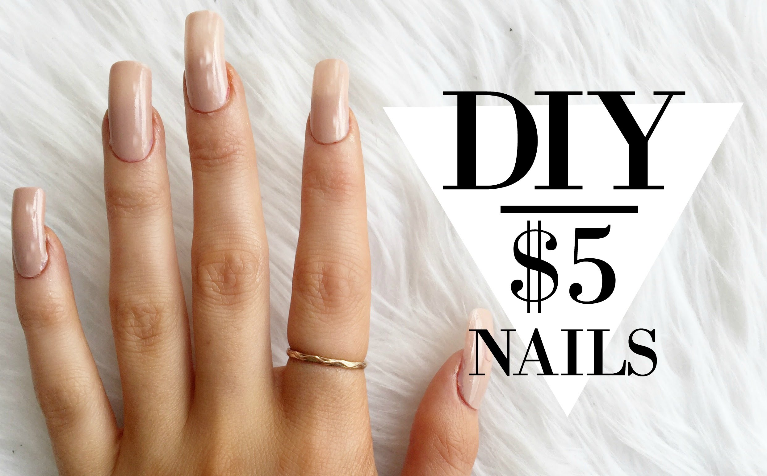 "DIY Super Easy ""Acrylic"" Nails"