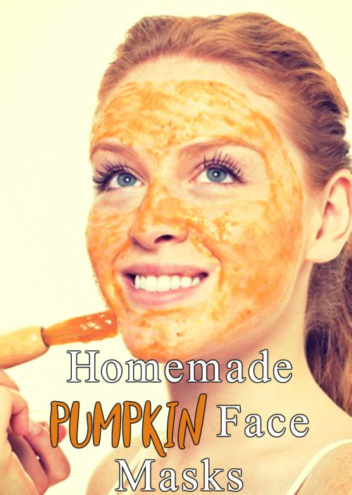 3 Homemade Pumpkin Face Masks