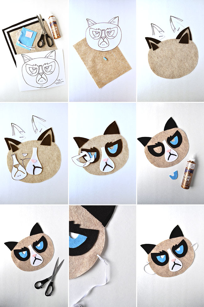 10 Super Easy DIY Halloween Masks