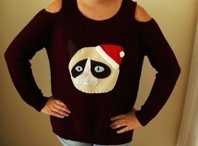 10 Ugly Christmas Sweater DIYs