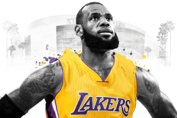 346dce10b7d LeBron James Reaches 4-Year Deal With The Lakers - LAUGHTARD