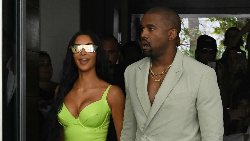 Kim Kardashian Leaves TMI Comment On Kanye's Instagram & People Are Loving It