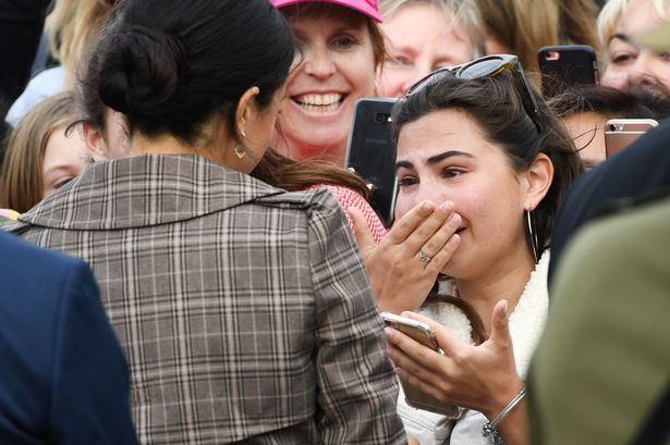 Meghan Markle Comforts A Crying Fan During Her Royal Tour In New Zealand