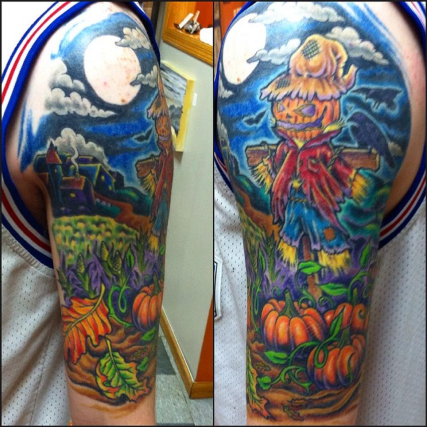 60 Cute & Creepy Halloween Tattoos