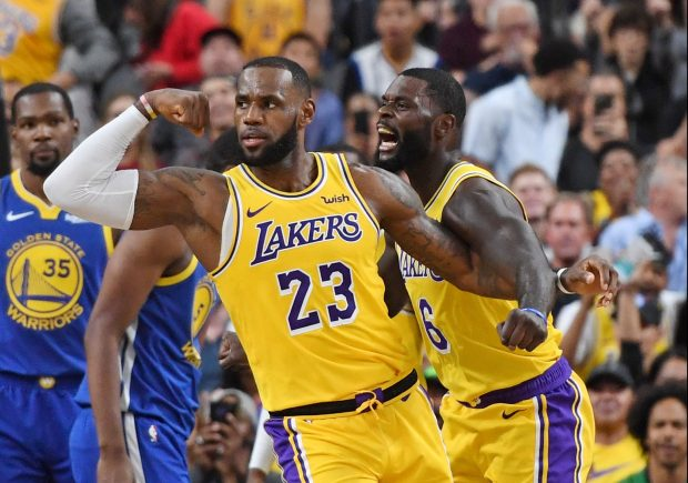 Lakers Vs Warriors Most Watched NBA Preseason Game Ever