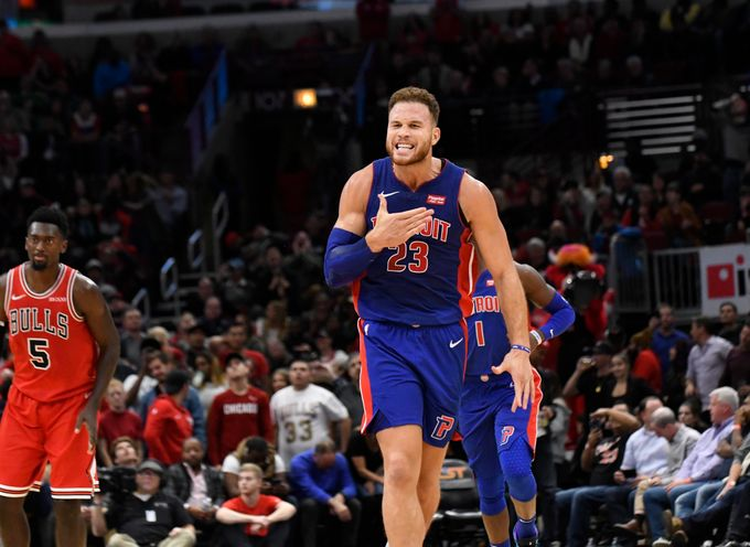 Blake Griffin Scores A Career High 50 Points