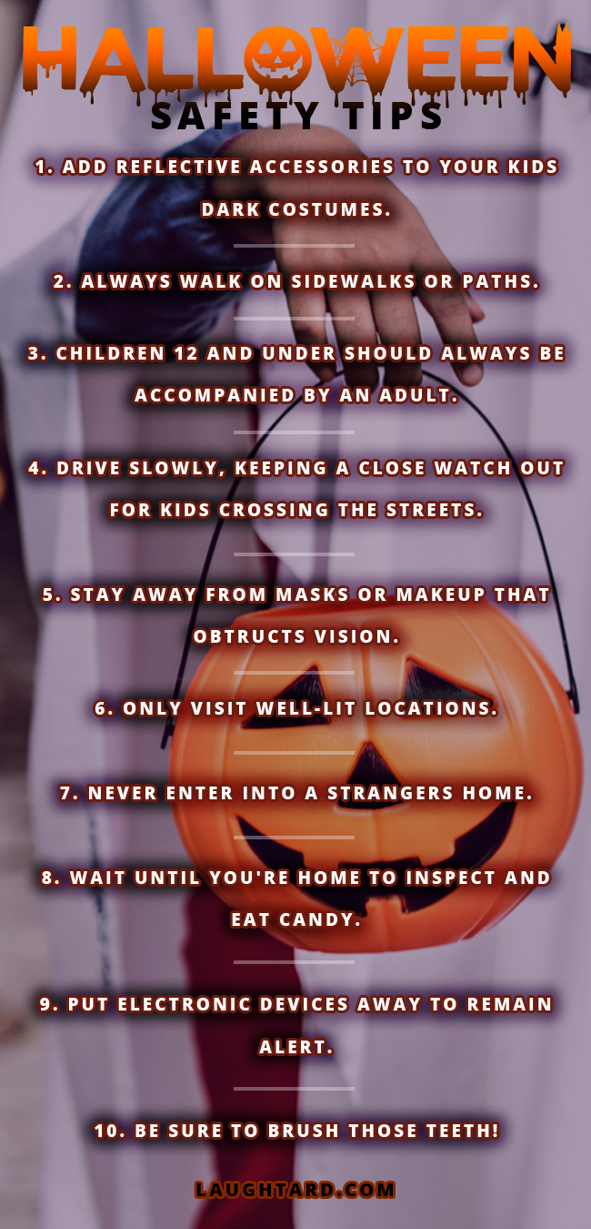 Halloween Safety Tips For Trick-Or-Treating