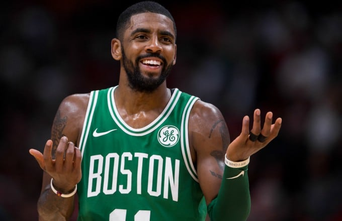 Kyrie Irving Says He Will Re-Sign With The Celtics