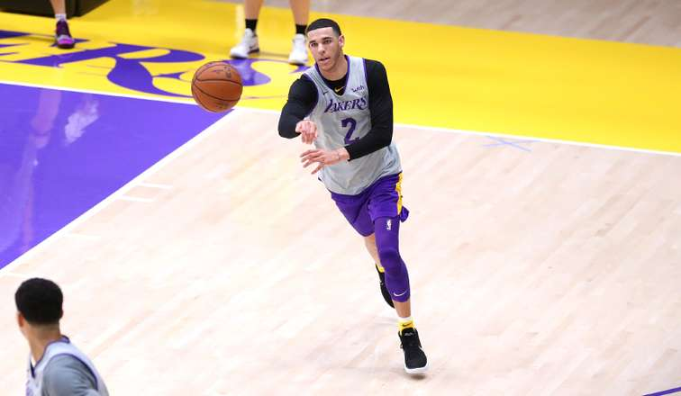 Lakers Lonzo Ball Will Make Preseason Debut Vs. Golden State Warriors