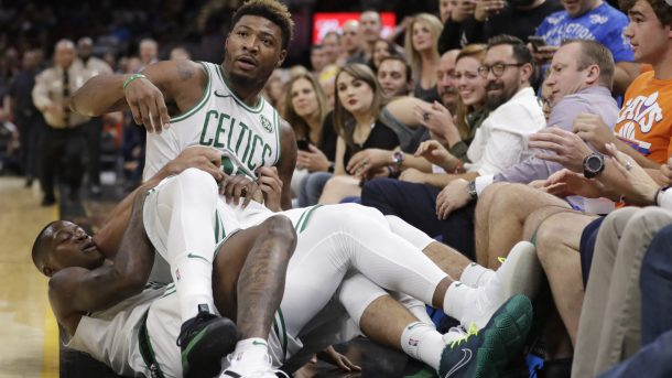 J.R. Smith & Marcus Smart Fined For Shoving
