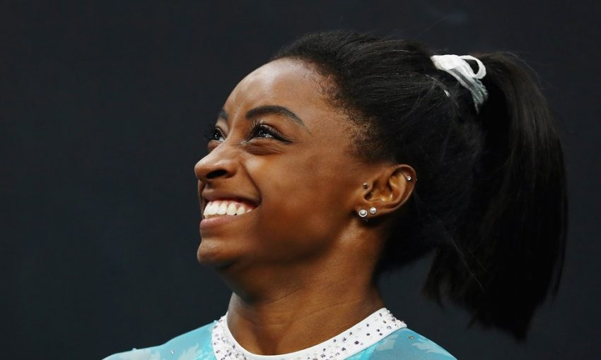 Simone Biles Puts Team USA In The Lead After A Visit To The ER For Kidney Stones