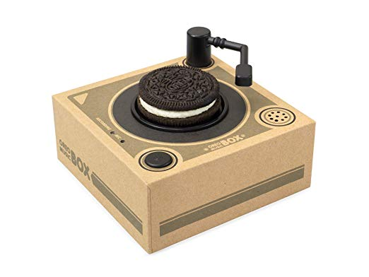 This Mini Record Player Plays Music From Your Oreo Cookie -- Say WHAT?