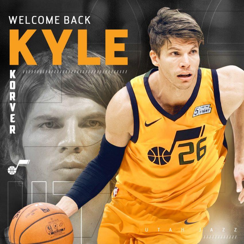 Kyle Korver Traded To Utah Jazz