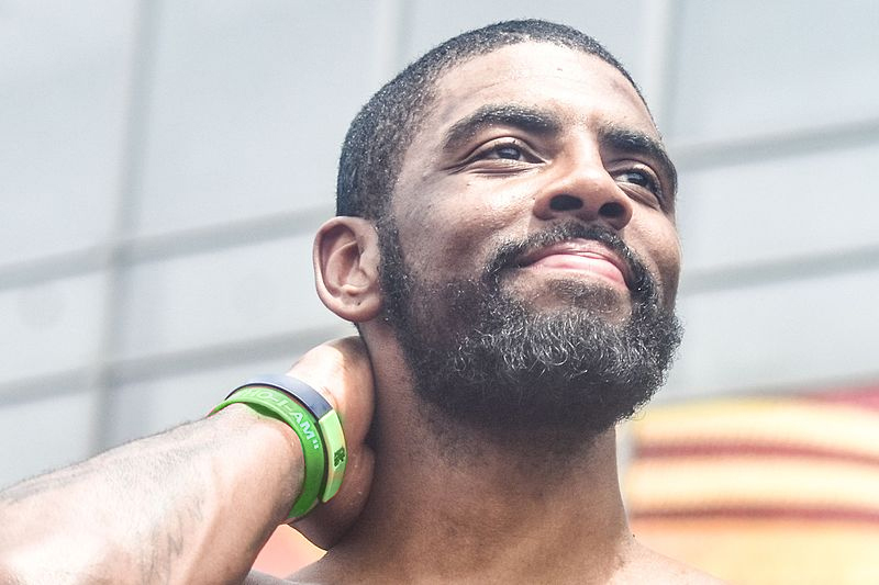 Kyrie Irving Fined $25K For Throwing Ball Into Crowd