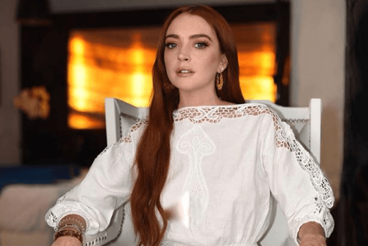 Lindsay Lohan Flirts With Tyga On Instagram #038; Fans Are Going Crazy!