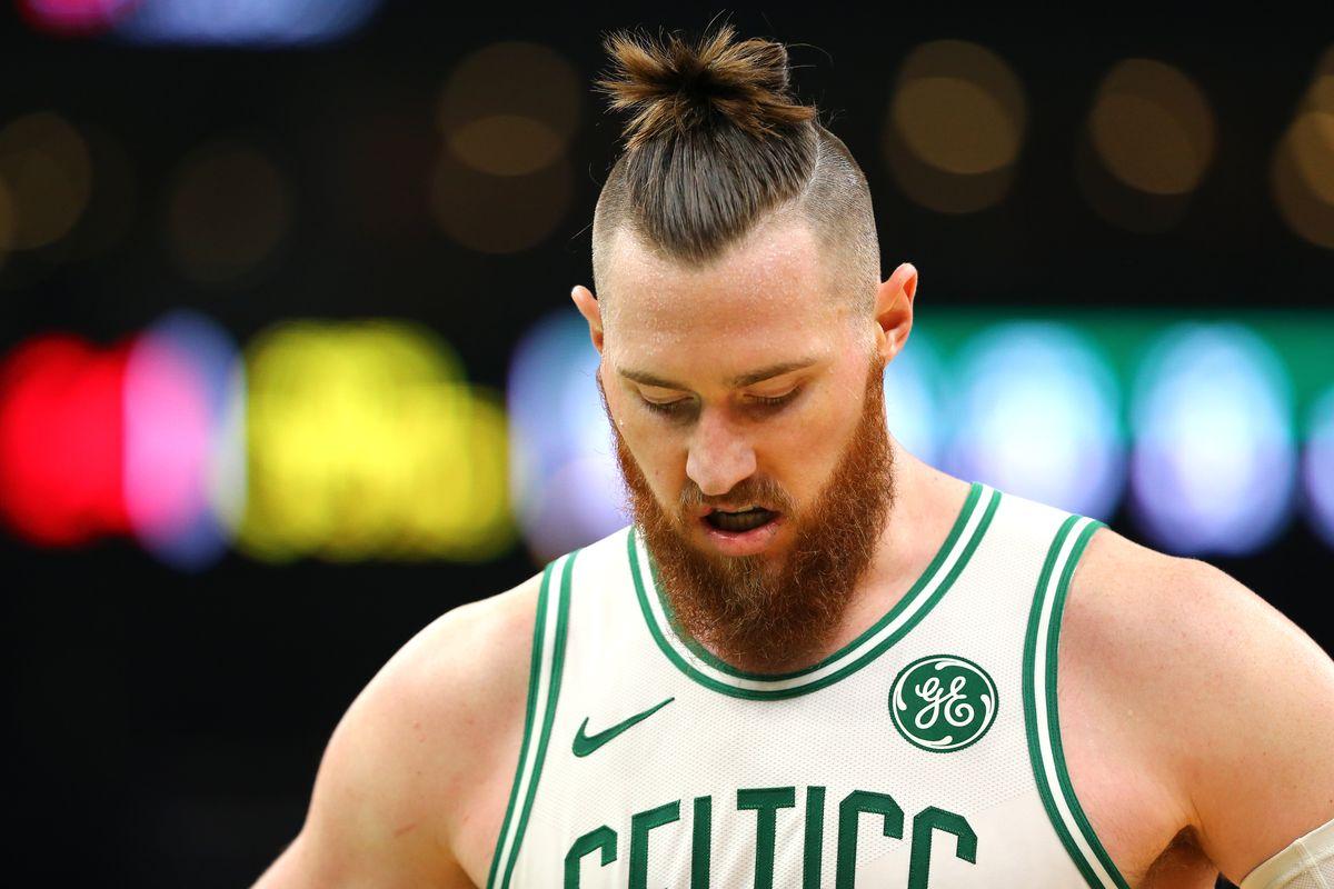 Boston Celtics Aron Baynes Breaks His Left Hand During Game