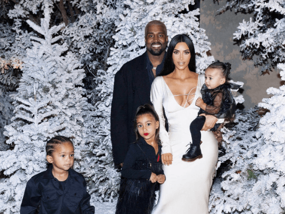 North West Debuts New KKW Beauty Red Lipstick