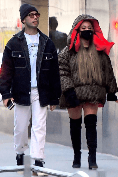 Ariana Grande Spotted Out With Her Ex Ricky Alvarez