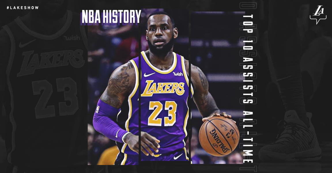 d5e87c4048c LeBron James Officially The First Player To Enter Top 10 All-Time Points    Assists