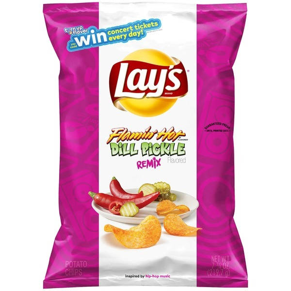 Lay's Flamin' Hot Dill Pickle Flavor Is Coming Soon!