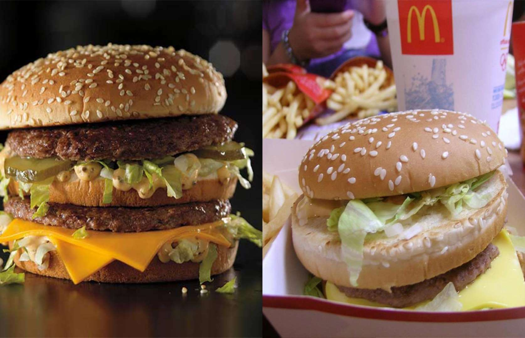 17 Disappointing Fast-Food Burger Fails