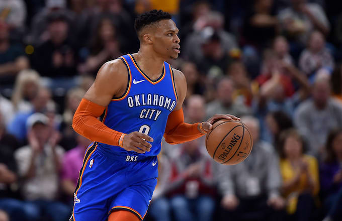 Russell Westbrook Slams Fan After Confrontation