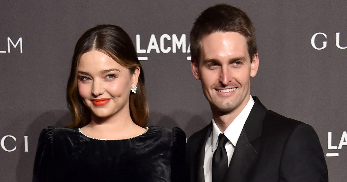 Miranda Kerr And Evan Spiegel Are Expecting Their Second Child Together