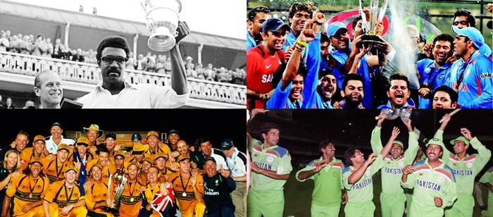 Cricket World Cup Winners   All World Cup Results Played So Far