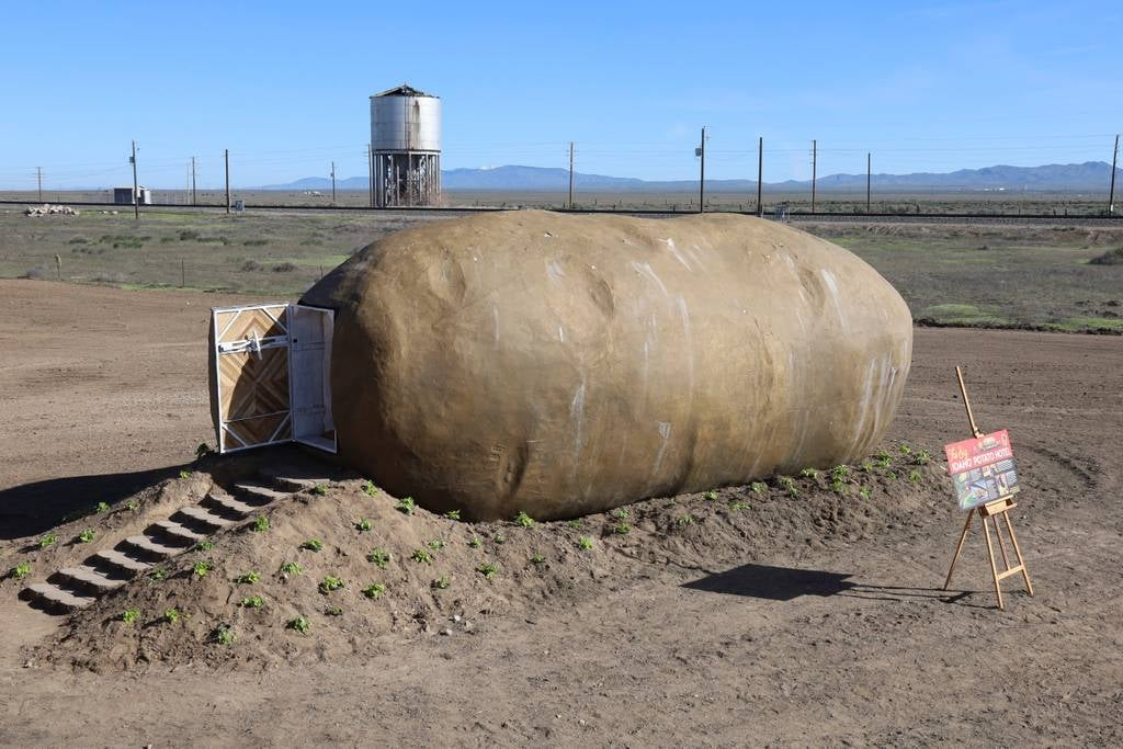 Sleep In This Giant Potato In Idaho For $200 A Night