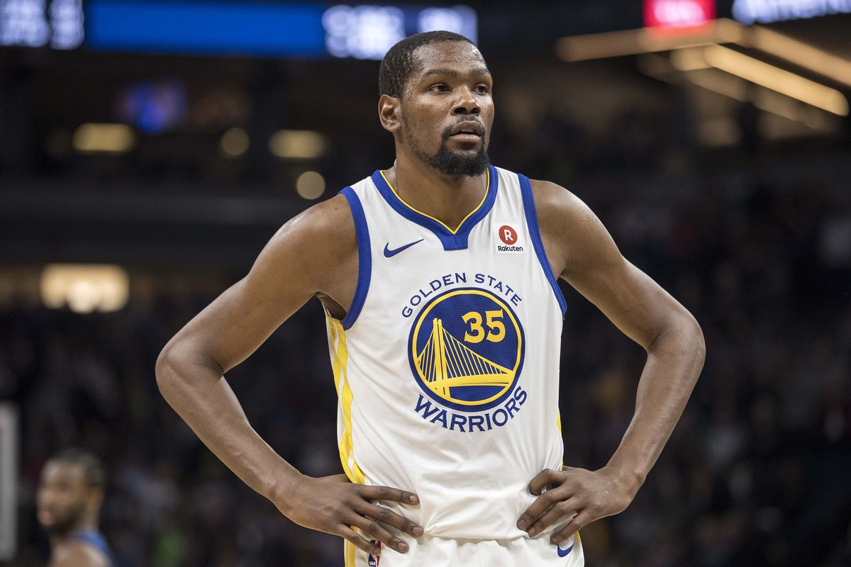 Kevin Durant Still Out For NBA Playoffs