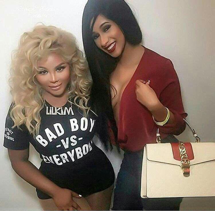 Lil Kim Calls Cardi B