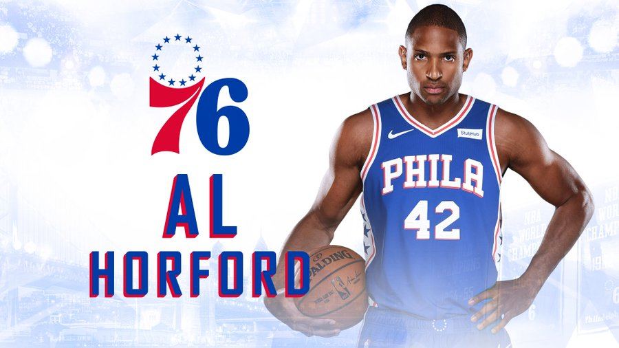 76ers Officially Sign Al Horford To Their Team