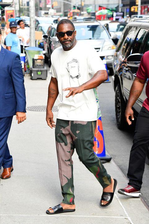 Idris Elba Has Fans Going Crazy Over His Sandals