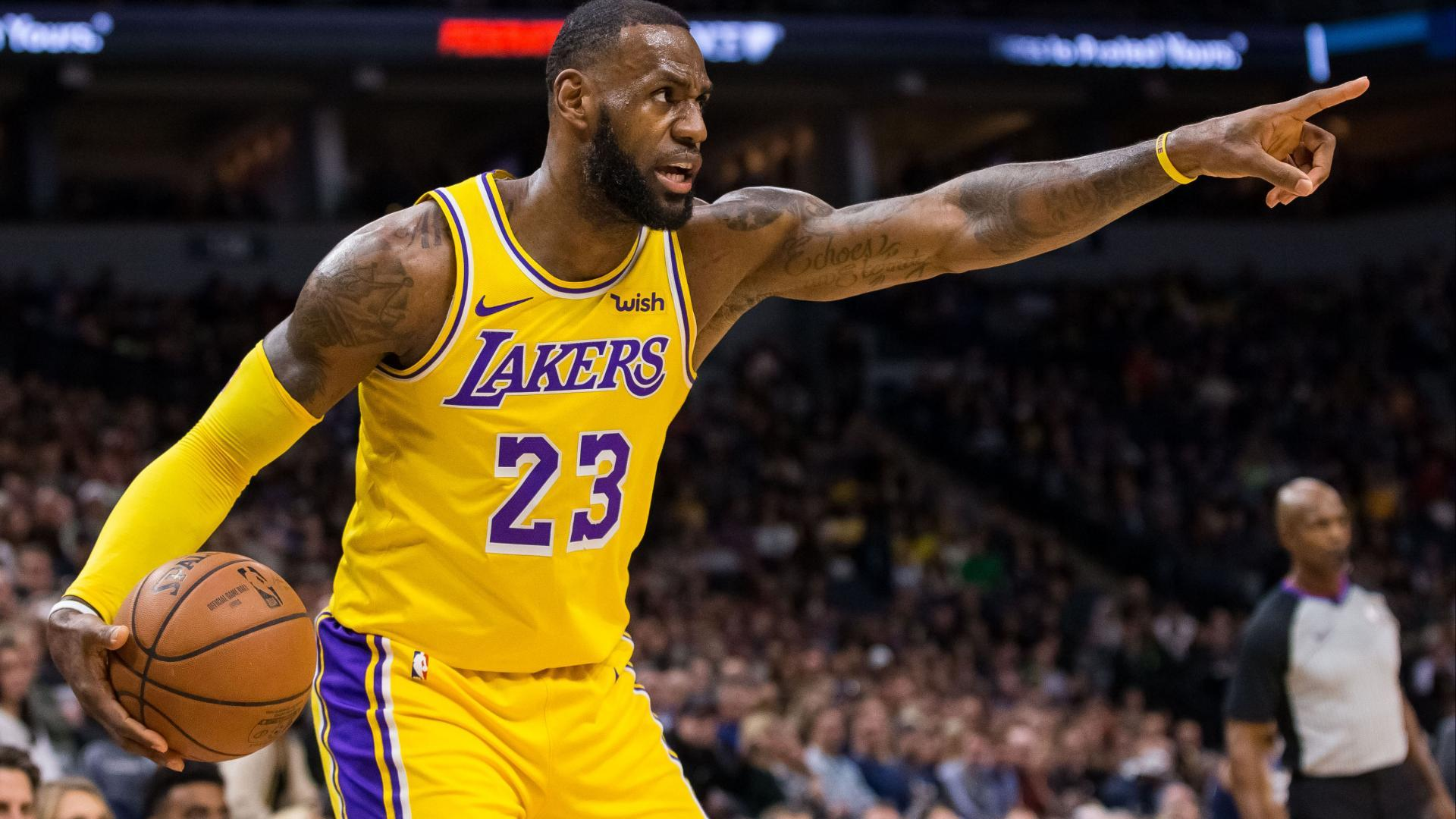 LeBron James Can't Switch His Jersey Number Yet