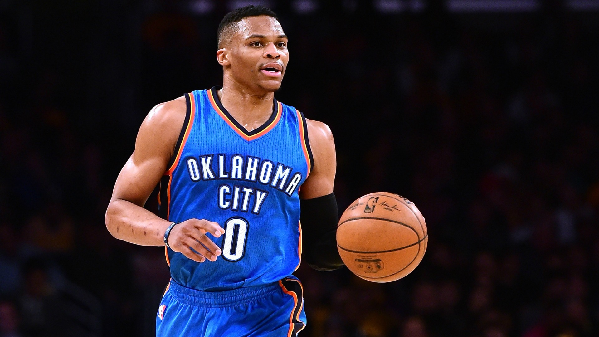 Russell Says Goodbye To Oklahoma City