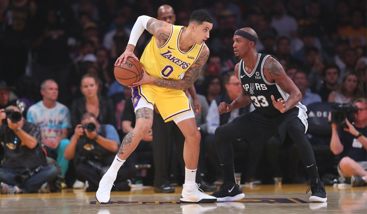 Kyle Kuzma Injures Ankle In Practice With Team USA 421572890