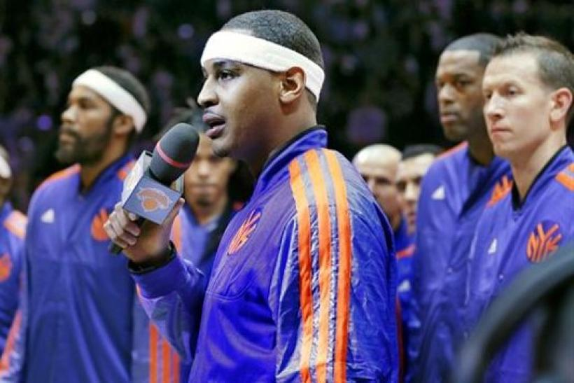 Carmelo Anthony Still Eager To Play In The NBA