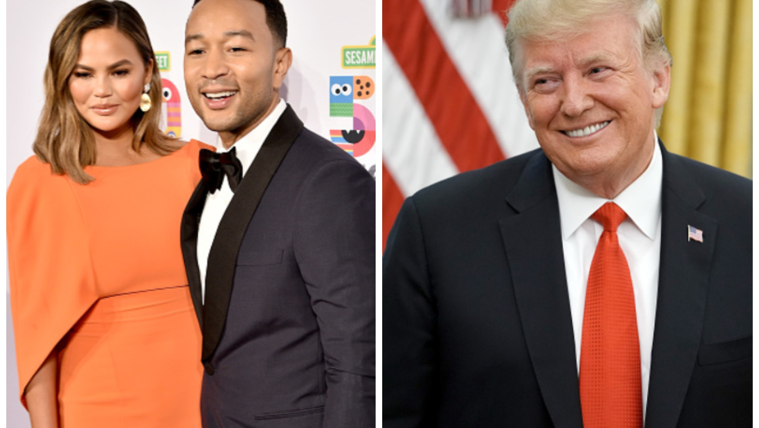 Trump Attacked John Legend And Chrissy Teigen On Twitter