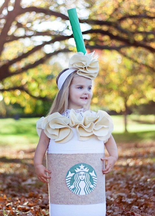 5 Seriously Adorable Kids Dressed In Starbucks Costumes