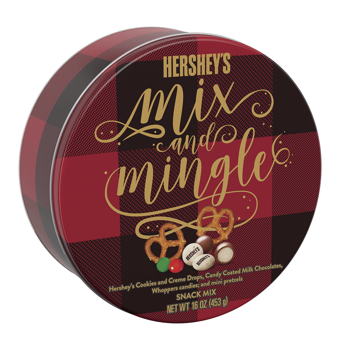 Hershey#8217;s Holiday Mix #038; Mingle Tin Is The Perfect Gift For Any Chocolate Lover 78507980