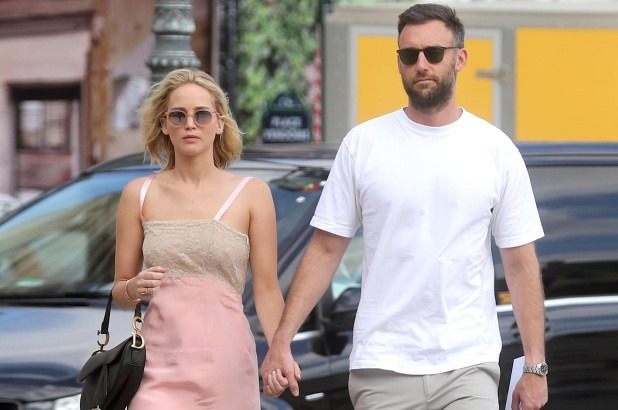 Jennifer Lawrence and Cooke Maroney Are Married! 992490449